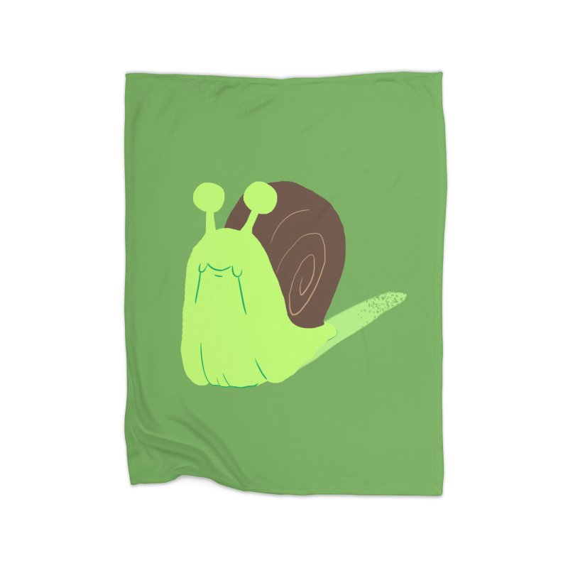 Slow & Sticky Home Blanket by Nathan Burdette's Artist Shop
