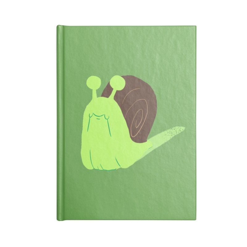 Slow & Sticky Accessories Notebook by Nathan Burdette's Artist Shop