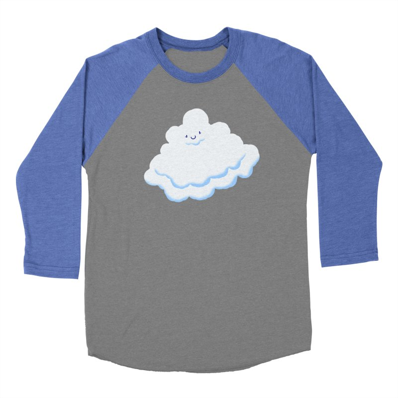 Fluffy! Men's Baseball Triblend T-Shirt by Nathan Burdette's Artist Shop