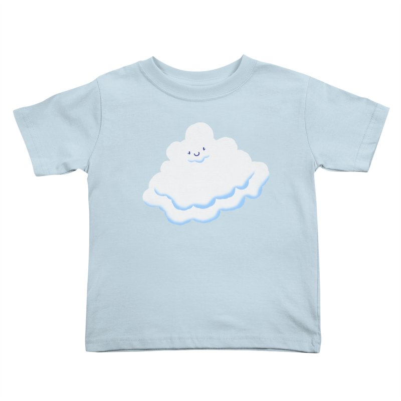 Fluffy! Kids Toddler T-Shirt by Nathan Burdette's Artist Shop