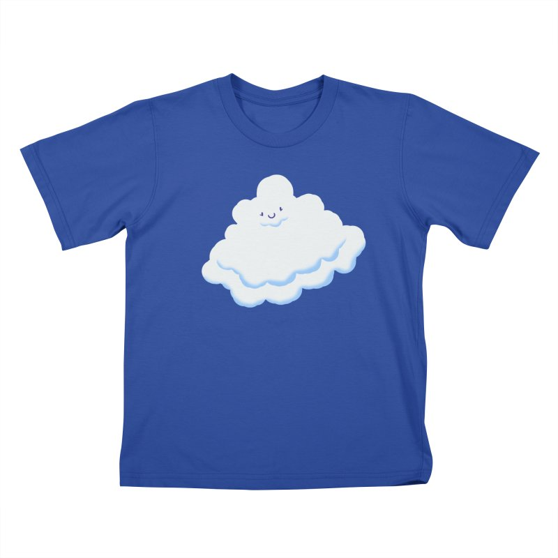 Fluffy! Kids T-Shirt by Nathan Burdette's Artist Shop