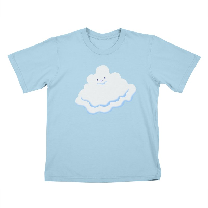 Fluffy! Kids T-shirt by Nathan Burdette's Artist Shop