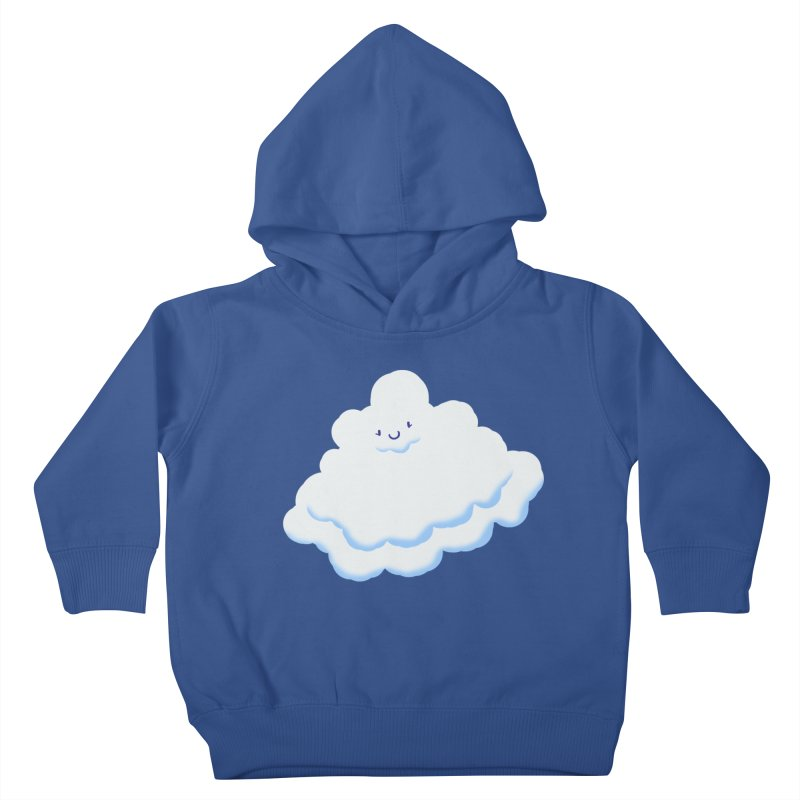 Fluffy! Kids Toddler Pullover Hoody by Nathan Burdette's Artist Shop