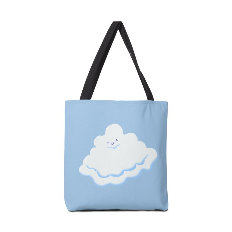 Fluffy! Accessories Bag by Nathan Burdette's Artist Shop