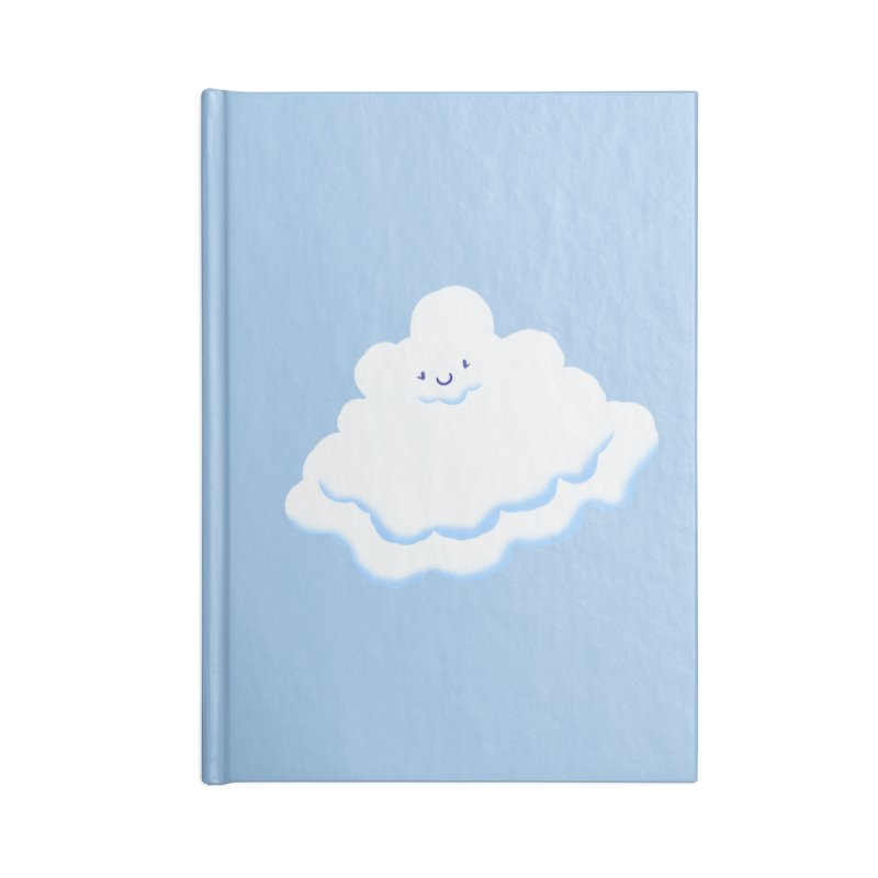 Fluffy! Accessories Notebook by Nathan Burdette's Artist Shop