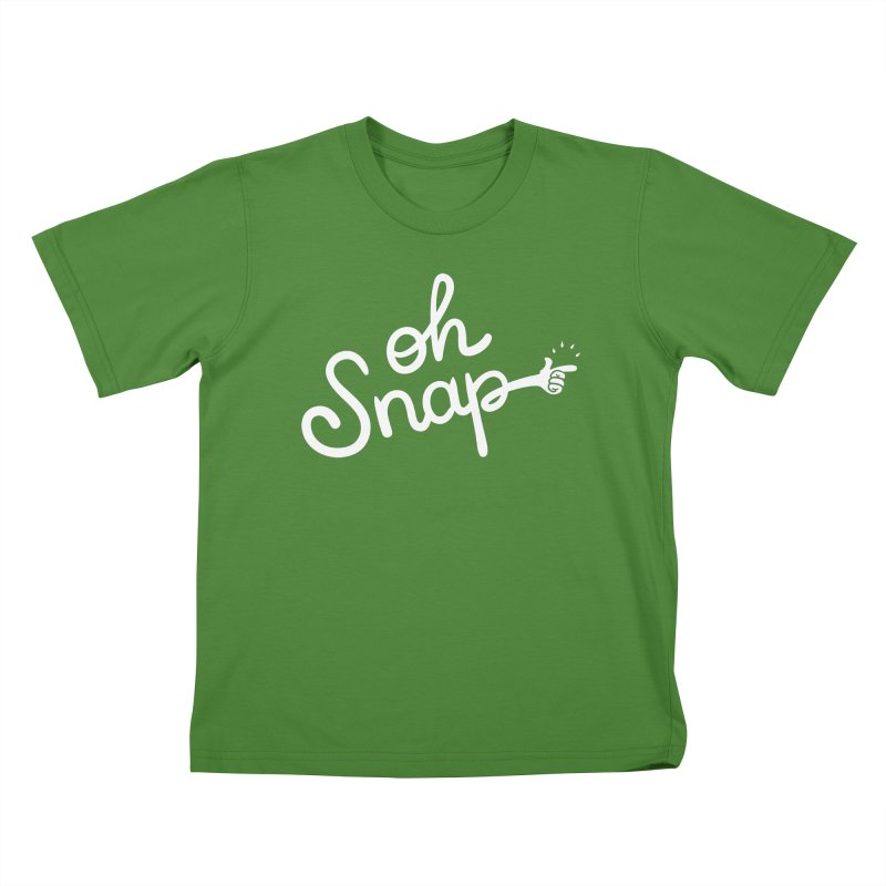 Oh Snap! Kids T-Shirt by Nathan Burdette's Artist Shop