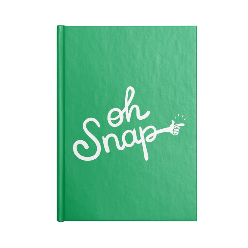Oh Snap! Accessories Notebook by Nathan Burdette's Artist Shop