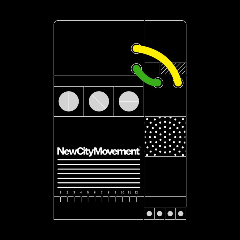 "New City Movement ""Console"" [Protective Ground] by Mr. Gizmoe Men's T-Shirt by The New City Movement Shop"