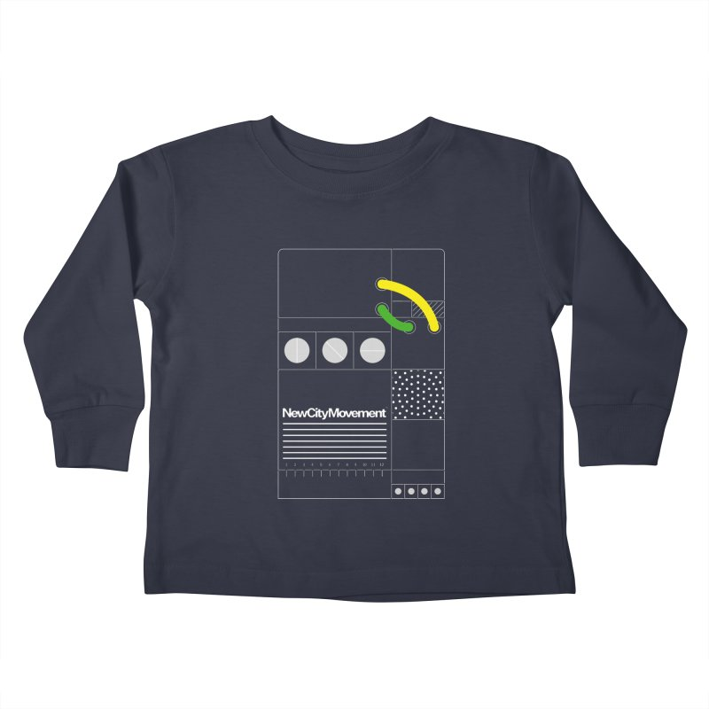 """New City Movement """"Console"""" [Protective Ground] by Mr. Gizmoe Kids Toddler Longsleeve T-Shirt by The New City Movement Shop"""