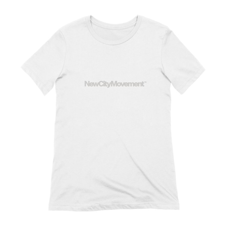 NCM Standard Logo Tee Women's Extra Soft T-Shirt by The New City Movement Shop