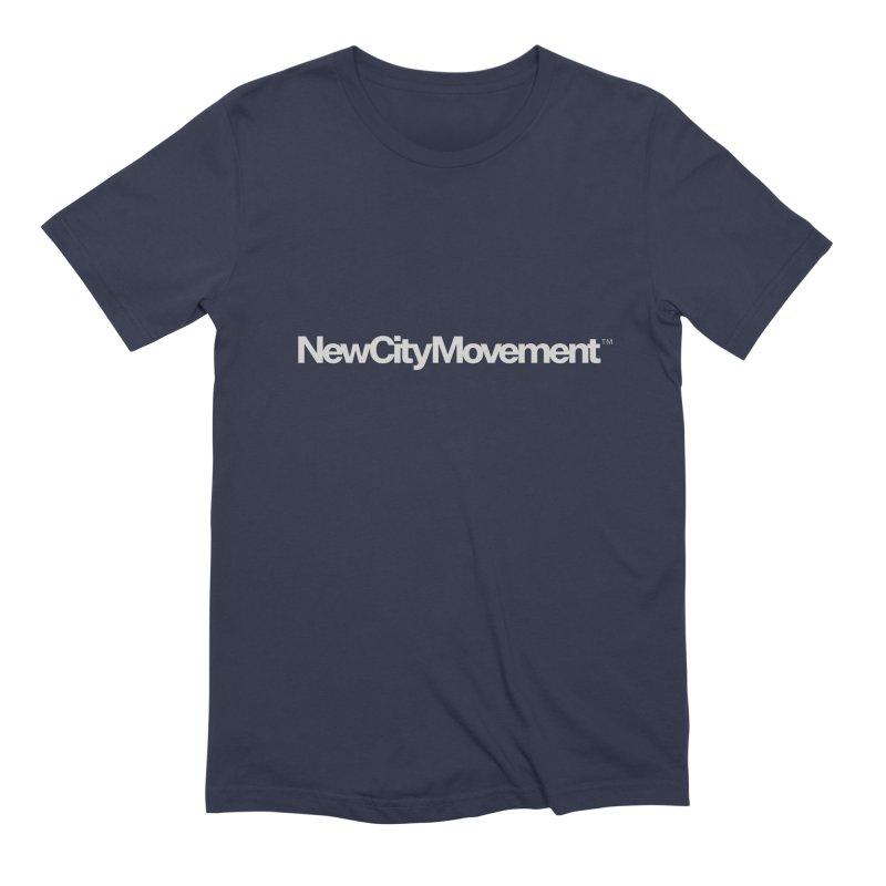 NCM Standard Logo Tee Men's Extra Soft T-Shirt by The New City Movement Shop