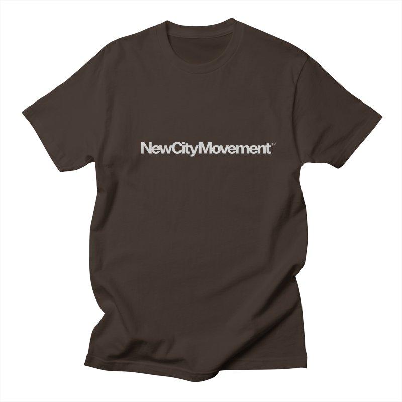 NCM Standard Logo Tee Men's Regular T-Shirt by The New City Movement Shop