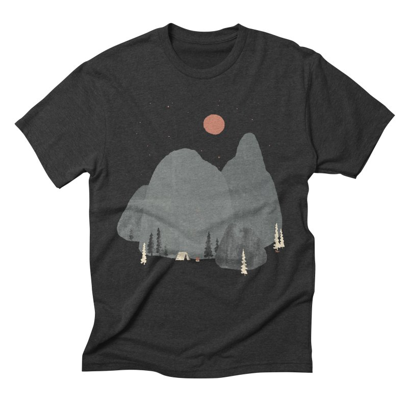 Last Night at Big Rock... Men's Triblend T-shirt by NDTank's Artist Shop