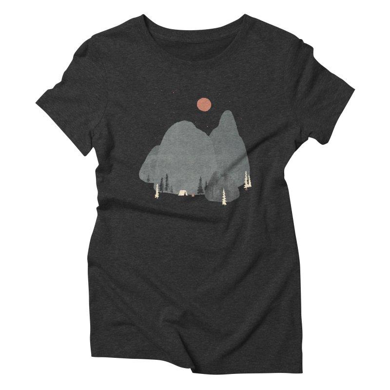 Last Night at Big Rock... Women's Triblend T-shirt by NDTank's Artist Shop