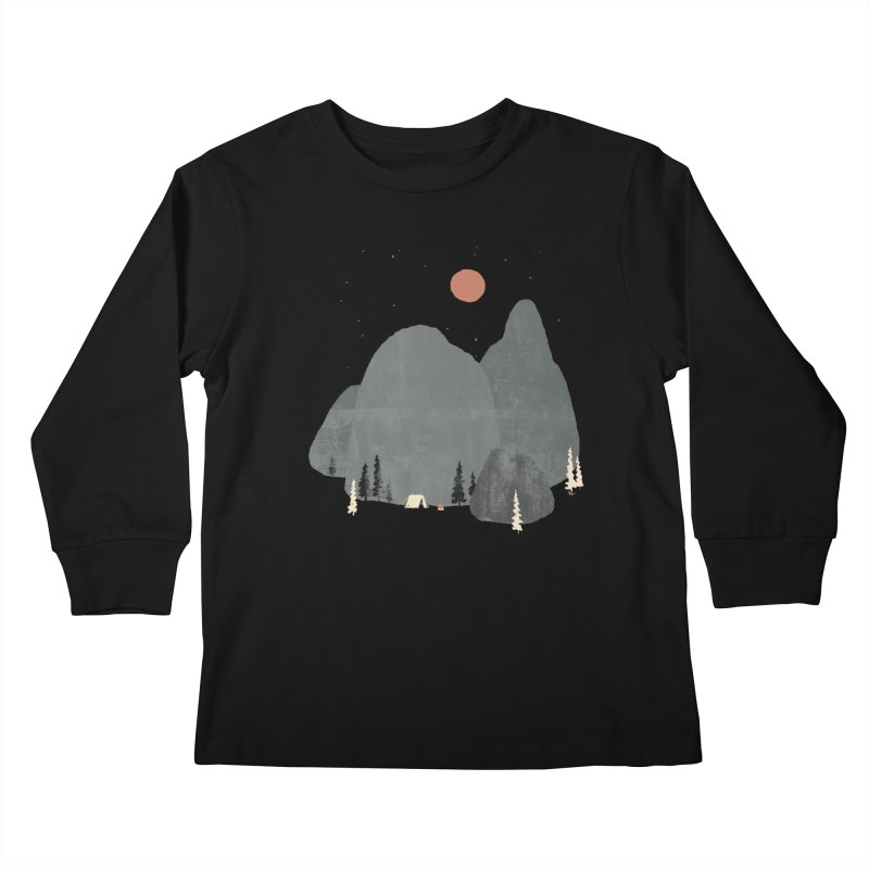 Last Night at Big Rock... Kids Longsleeve T-Shirt by NDTank's Artist Shop