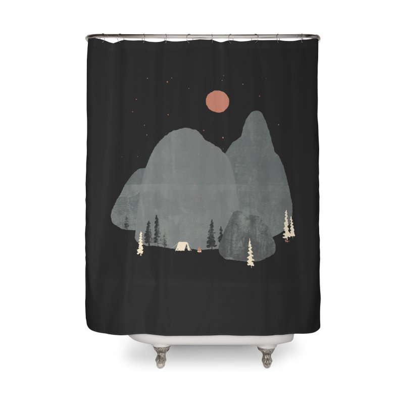 Last Night at Big Rock... Home Shower Curtain by NDTank's Artist Shop