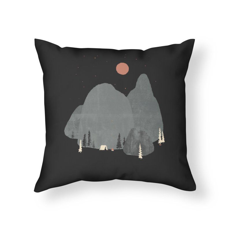Last Night at Big Rock... Home Throw Pillow by NDTank's Artist Shop