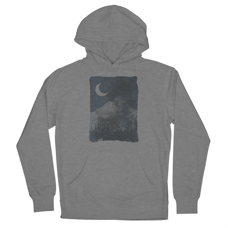 Winter Finds the Wolf... Women's Pullover Hoody by NDTank's Artist Shop