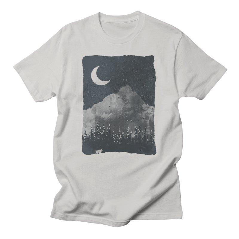 Winter Finds the Wolf... Men's T-Shirt by NDTank's Artist Shop