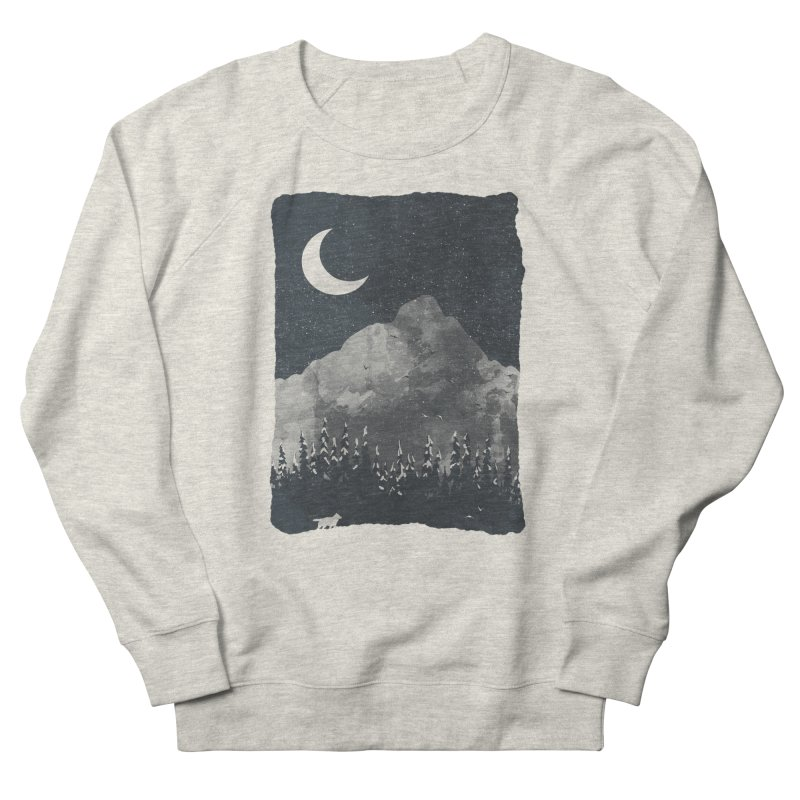 Winter Finds the Wolf... Women's Sweatshirt by NDTank's Artist Shop