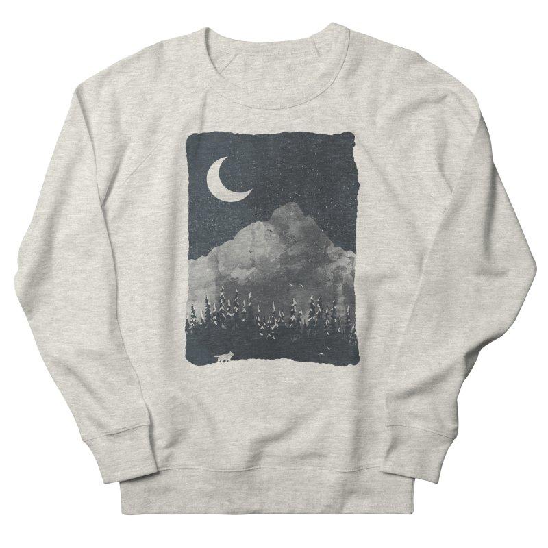 Winter Finds the Wolf... Men's Sweatshirt by NDTank's Artist Shop