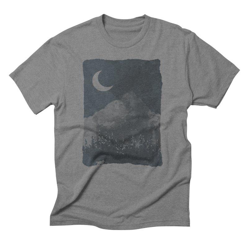 Winter Finds the Wolf... Men's Triblend T-shirt by NDTank's Artist Shop