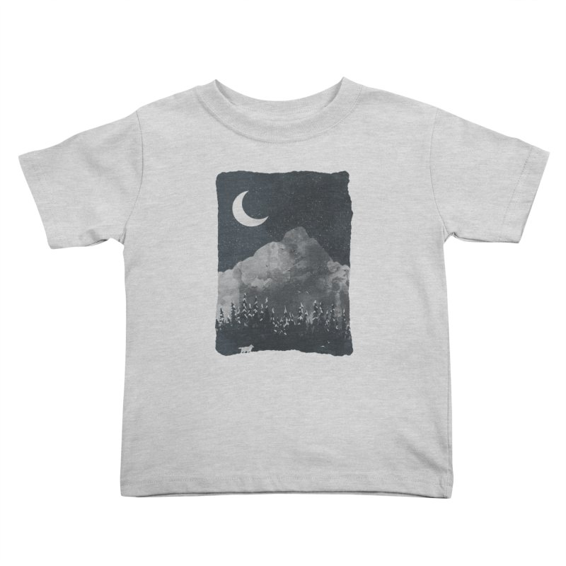Winter Finds the Wolf... Kids Toddler T-Shirt by NDTank's Artist Shop
