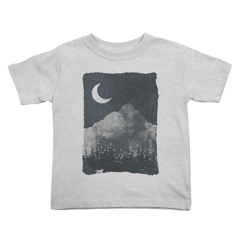 Winter Finds the Wolf... Kids Toddler T-Shirt by NDTank's Artist Shop