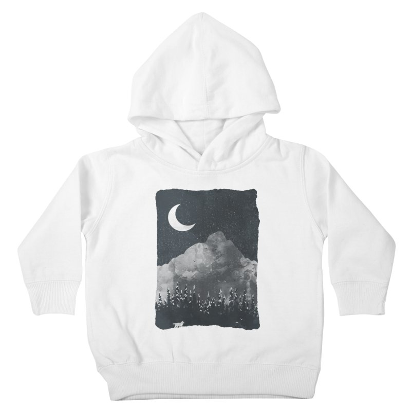 Winter Finds the Wolf... Kids Toddler Pullover Hoody by NDTank's Artist Shop