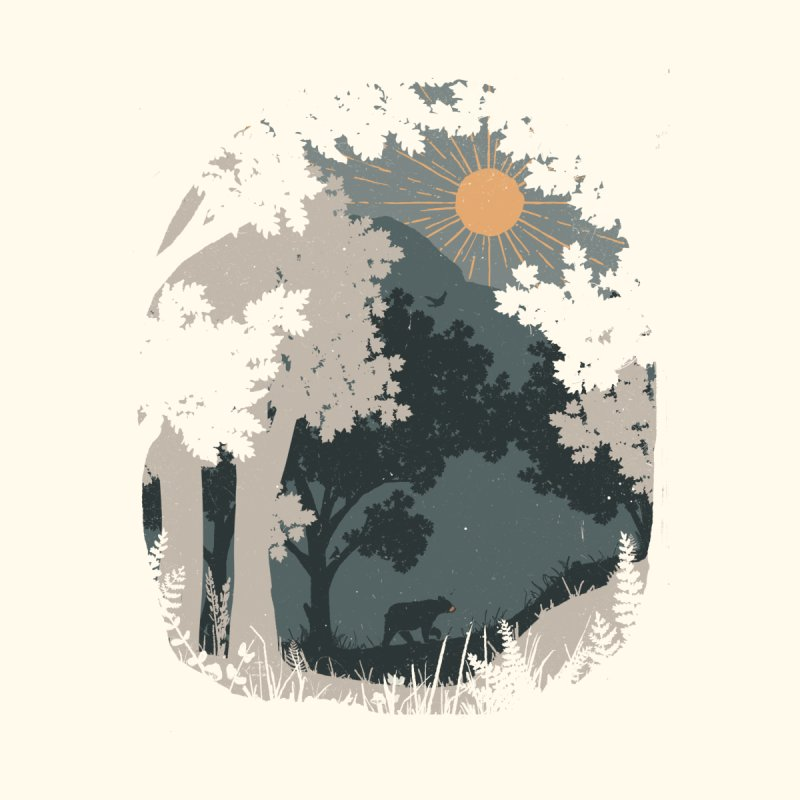Spotted a Bear... Women's T-Shirt by NDTank's Artist Shop