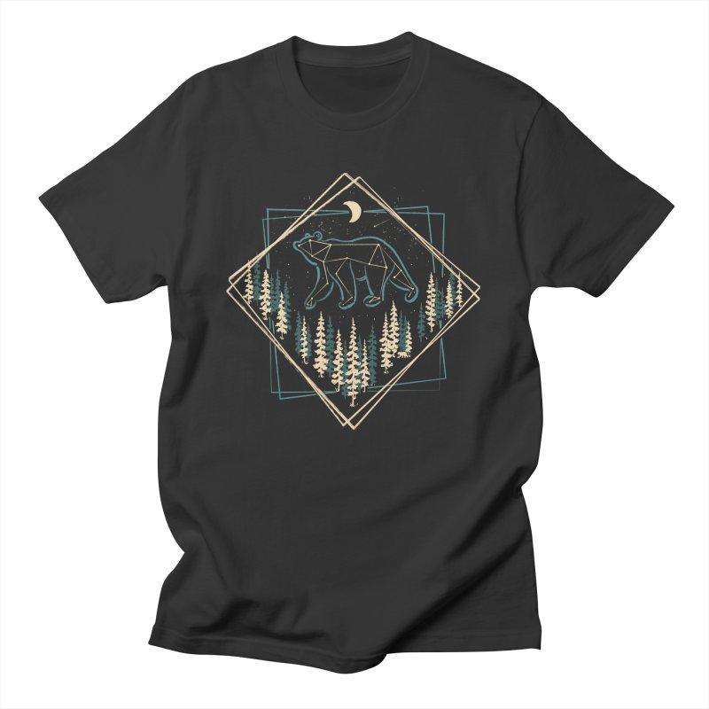 Heaven's Wild Bear... Men's T-Shirt by NDTank's Artist Shop