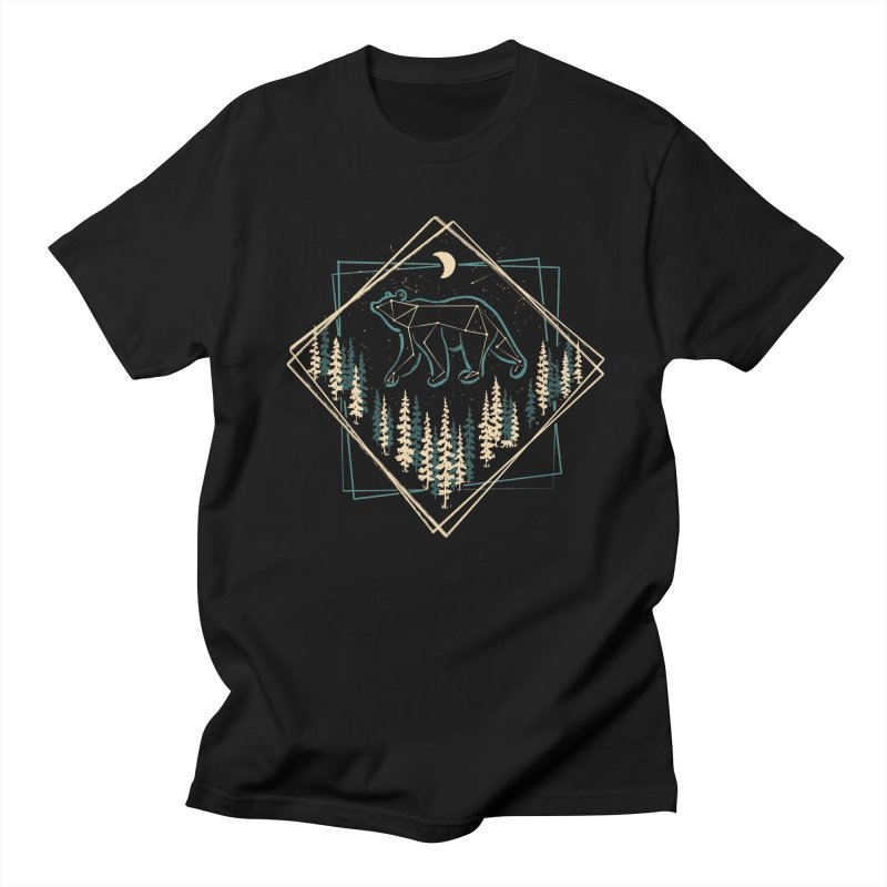 Heaven's Wild Bear... Men's T-Shirt by NDTank's Artist Shop