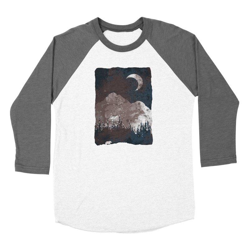 Winter Finds the Bear... Women's Longsleeve T-Shirt by NDTank's Artist Shop