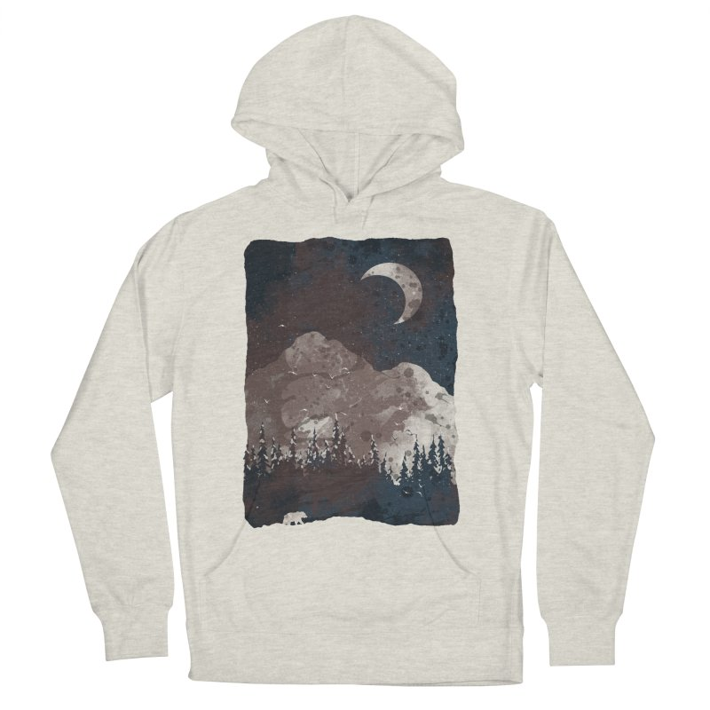 Winter Finds the Bear... Women's Pullover Hoody by NDTank's Artist Shop