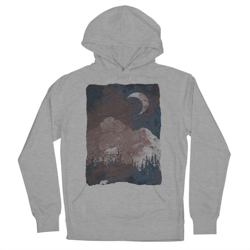 Winter Finds the Bear... Men's Pullover Hoody by NDTank's Artist Shop