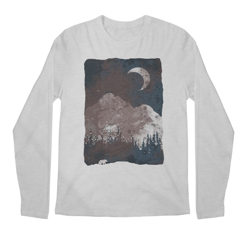Winter Finds the Bear... Men's Longsleeve T-Shirt by NDTank's Artist Shop
