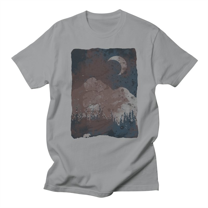 Winter Finds the Bear... Women's Unisex T-Shirt by NDTank's Artist Shop