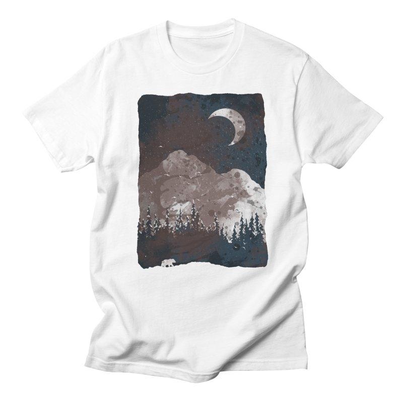Winter Finds the Bear... Men's T-shirt by NDTank's Artist Shop