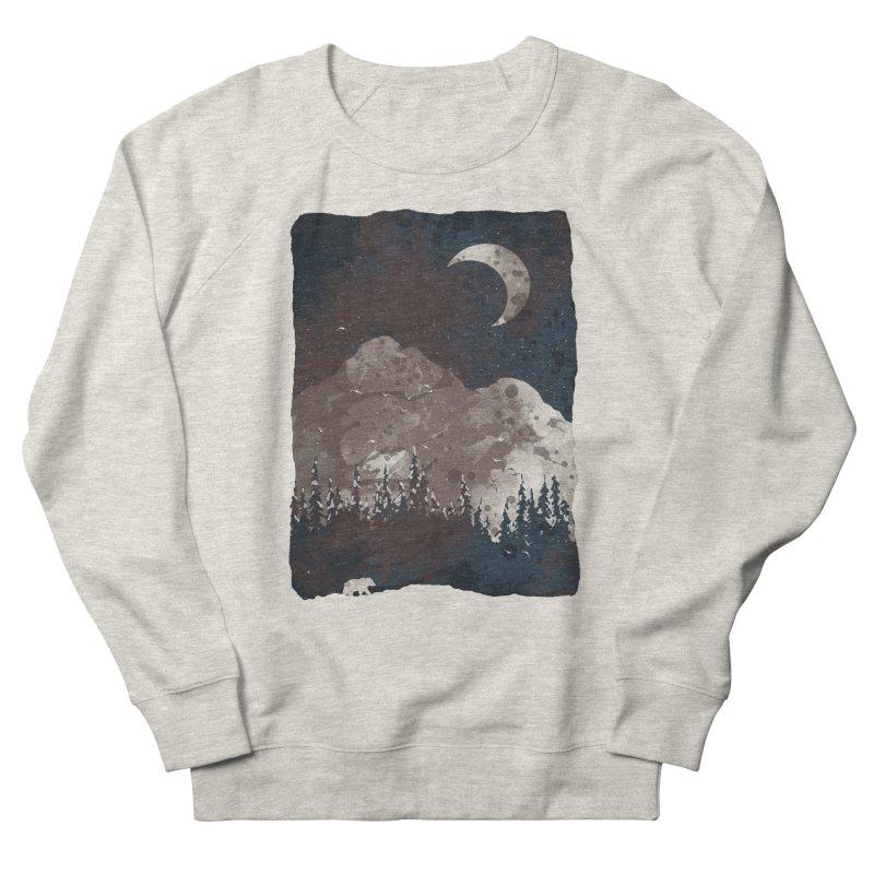 Winter Finds the Bear... Women's Sweatshirt by NDTank's Artist Shop