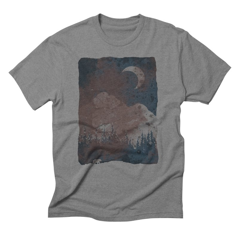 Winter Finds the Bear... Men's T-Shirt by NDTank's Artist Shop
