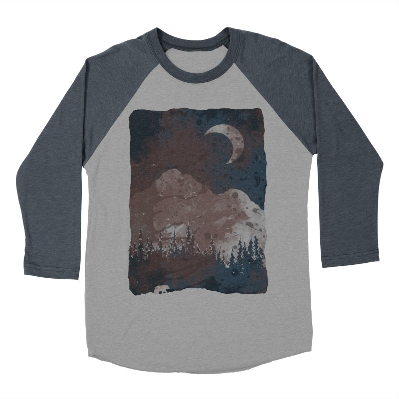 Winter Finds the Bear... Men's Baseball Triblend T-Shirt by NDTank's Artist Shop