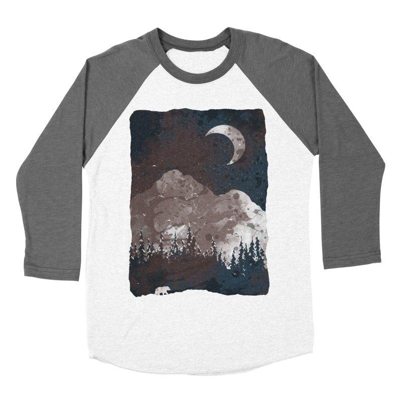 Winter Finds the Bear... Men's Baseball Triblend T-Shirt by NDTank's Artist Shop