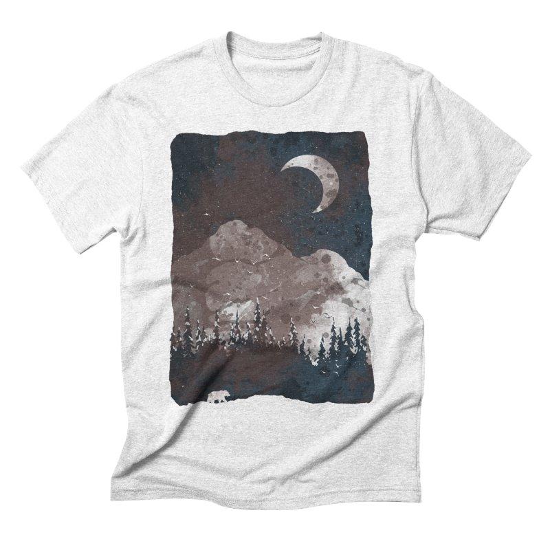 Winter Finds the Bear... Men's Triblend T-shirt by NDTank's Artist Shop