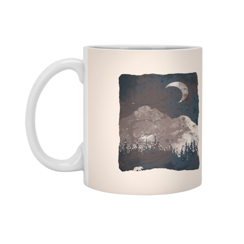 Winter Finds the Bear... Accessories Mug by NDTank's Artist Shop