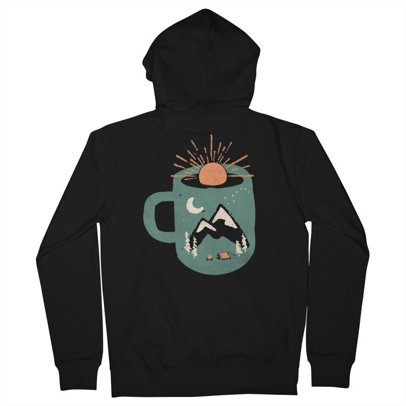 Mountain Morning Wake Up... Men's Zip-Up Hoody by NDTank's Artist Shop