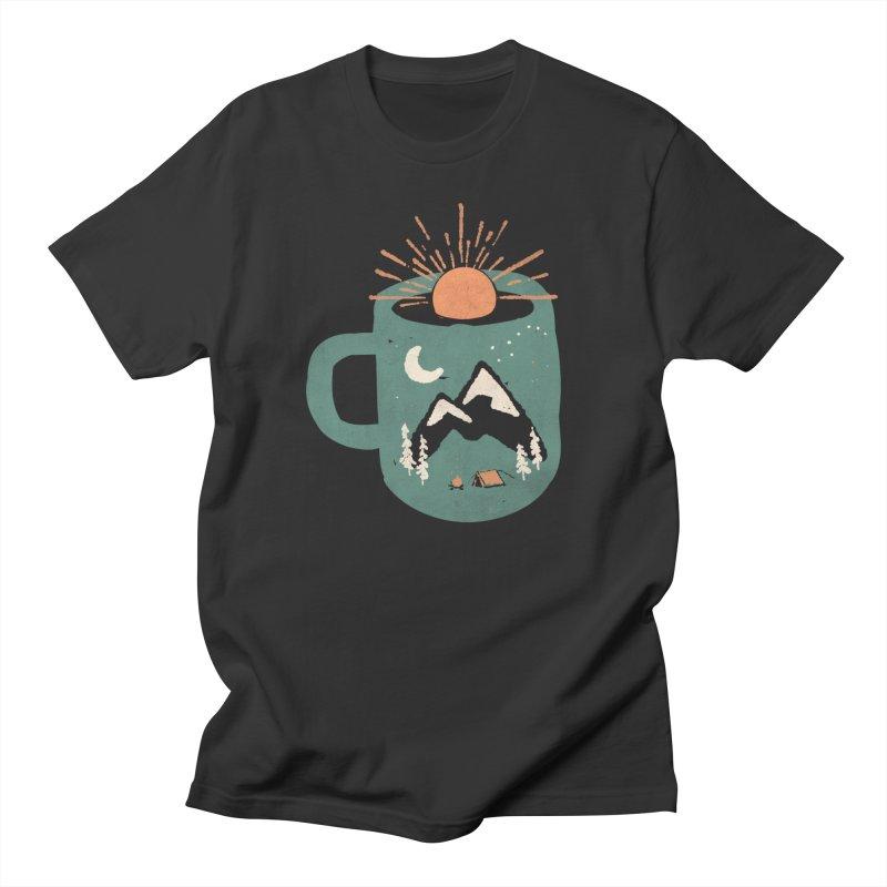 Mountain Morning Wake Up... Men's T-Shirt by NDTank's Artist Shop