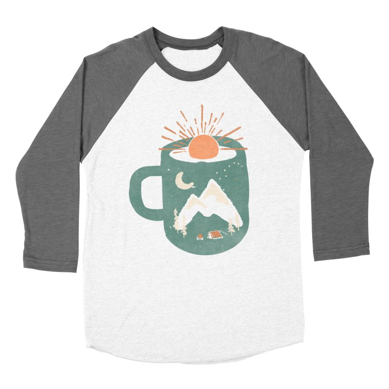 Mountain Morning Wake Up... Men's Baseball Triblend T-Shirt by NDTank's Artist Shop
