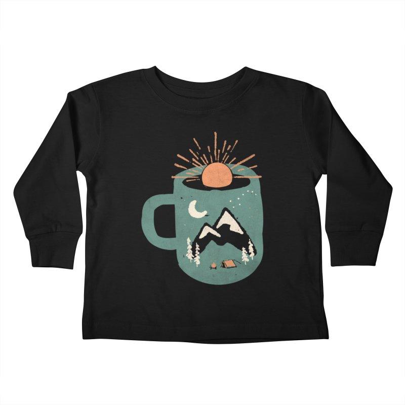 Mountain Morning Wake Up... Kids Toddler Longsleeve T-Shirt by NDTank's Artist Shop