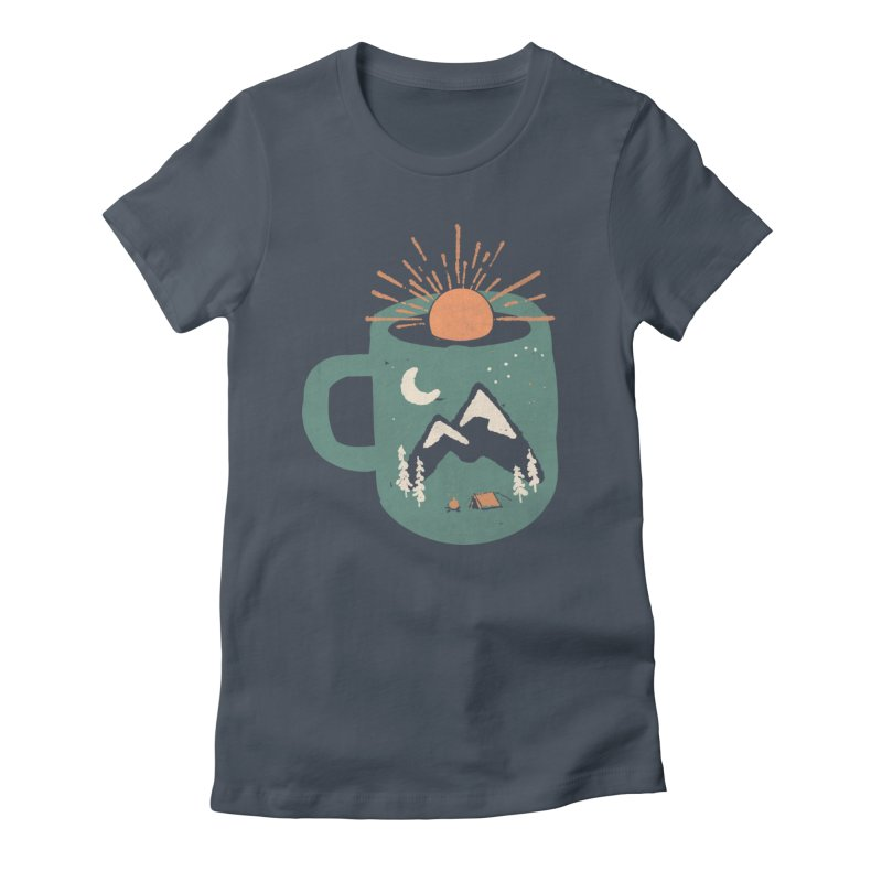 Mountain Morning Wake Up... Women's T-Shirt by NDTank's Artist Shop