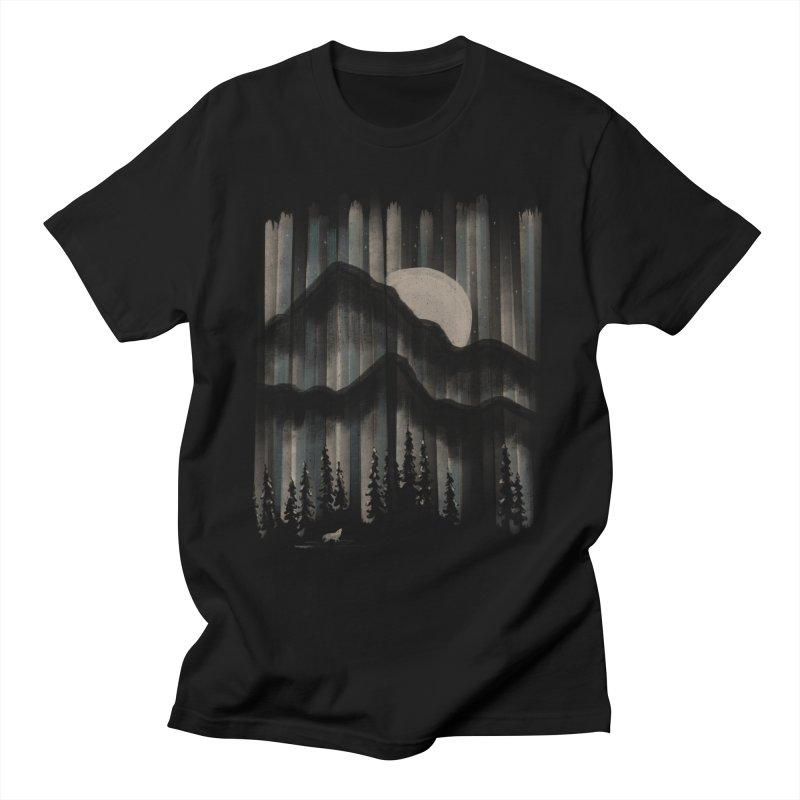 A Wolf in the Night... Men's T-Shirt by NDTank's Artist Shop